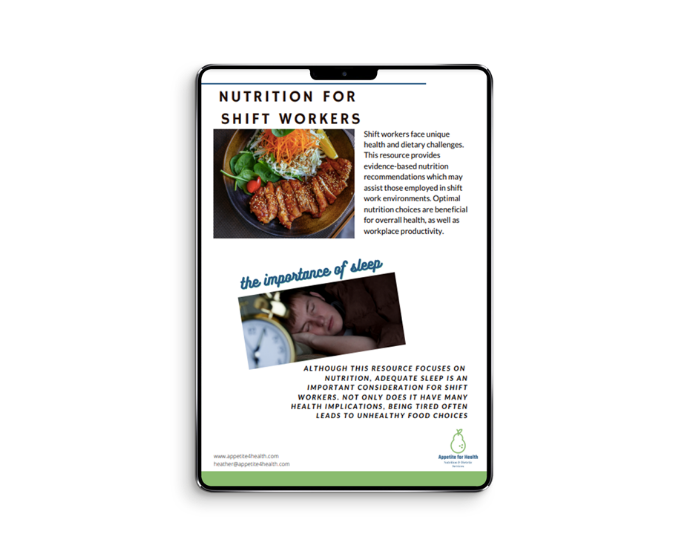 nutrition-for-shift-worker-guide